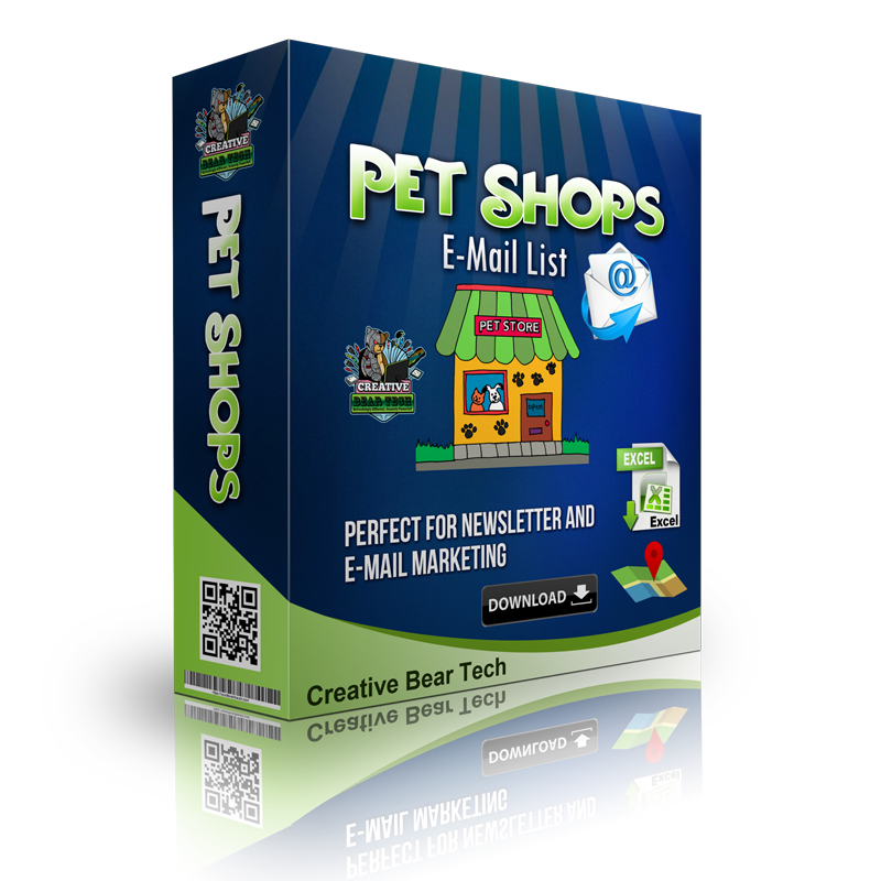 Pet Shops E-mail List